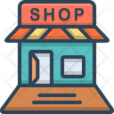 Shop Open Store Icon