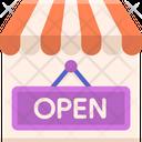 Open Shop Icon