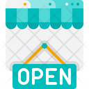 Open Shop Open Store Icon