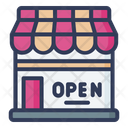 Open Shop Open Store Open Icon