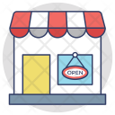 Open Shop Sign Icon
