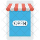 Open Shop Store Icon