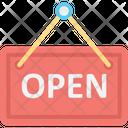 Open Sign Shop Open Estate Sign Icon