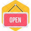 Open Mail Book Icon