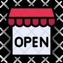 Store Shop Open Icon
