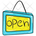 Open Tag Icon