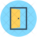 Opened Door House Icon