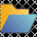 Opened Folder Documents Icon