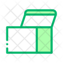 Opened Box Icon