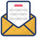 Opened Email View Message Message Envelope Icon
