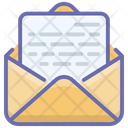 Opened Email Received Email Opened Letter Icon