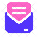 Message Opened Business Icon