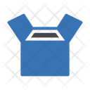 Opening Carton Delivery Icon