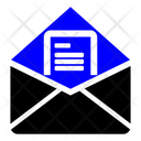 Mail Open Opening Mail Icon