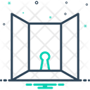 Openness Door Entrance Icon
