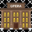 Opera House Theater Icon