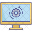 Operating System Security Update Software Automation Icon