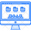 Operating System Monitor Icon