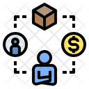 Operation Manager Businessman Icon