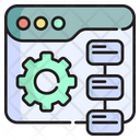 Operation Process Production Icon