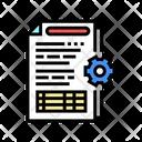 Operational Process Icon