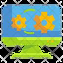 Operations Cogwheel Software Icon