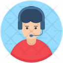 Operator Consultant Customer Support Icon