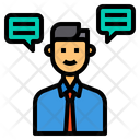 Operator Chat Bubble Speech Icon