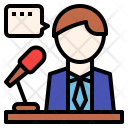Operator Presentation Speaker Icon