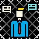 Operator Communication Conversation Icon