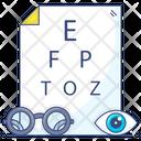 Ophthalmology Eye Care Eye Test Icon