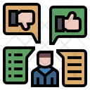 Opinion Feedback Review Icon