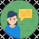 Opinion Communication Feedback Icon