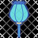 Opium Opium Popy Drug Icon