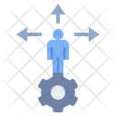 Alternative Chance Decision Icon