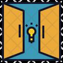 Open Door Idea Icon