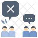 Disagreement Conflict Argument Icon