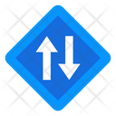 Opposite Direction Arrow Directional Arrows Elevator Icon