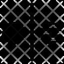Opposite Symbol Icon