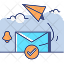 Opt In Marketing Email Icon