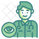 Opthalmologist Eye Profession Icon