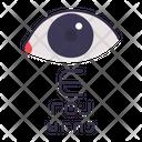 Optical Eye Chart Icon