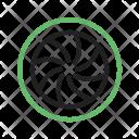 Optical diaphragm Icon