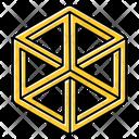 Optical Illusion Puzzle Icon