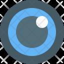 Optical Lens Icon