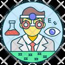 Optician Doctor Optometrist Icon