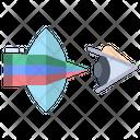 Optics Physics Optics Ophthalmology Icon
