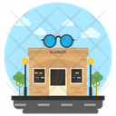 Optics Shop Optical Store Spectacle Shop Icon