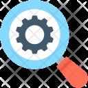 Optimization Magnifier Search Icon