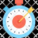 Optimization Bullseye Timer Icon